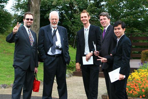 James Dad, Sterling, James B. Allen & Edmund Loh