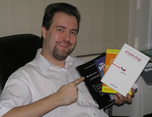 Holding all of Mark Joyner's books