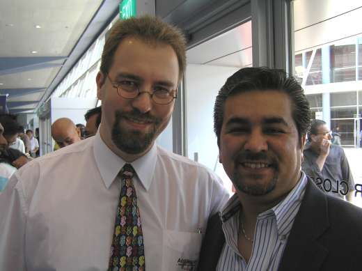 With Armand Morin at the World Internet Mega Summit in Singapore, May 2007