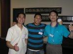 Aurelius Tjin, Carlo Selorio & Tim Lee