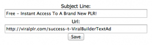 Viral Builder - Text Ad Setup-2