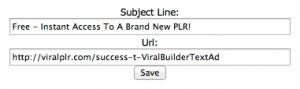 Viral Builder - Text Ad Setup-2